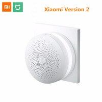 Original Xiaomi Mi Smart Control Center Upgrade version Control Sensor Smart Socket Plug WiFi Remote Multifunctional Gateway 2