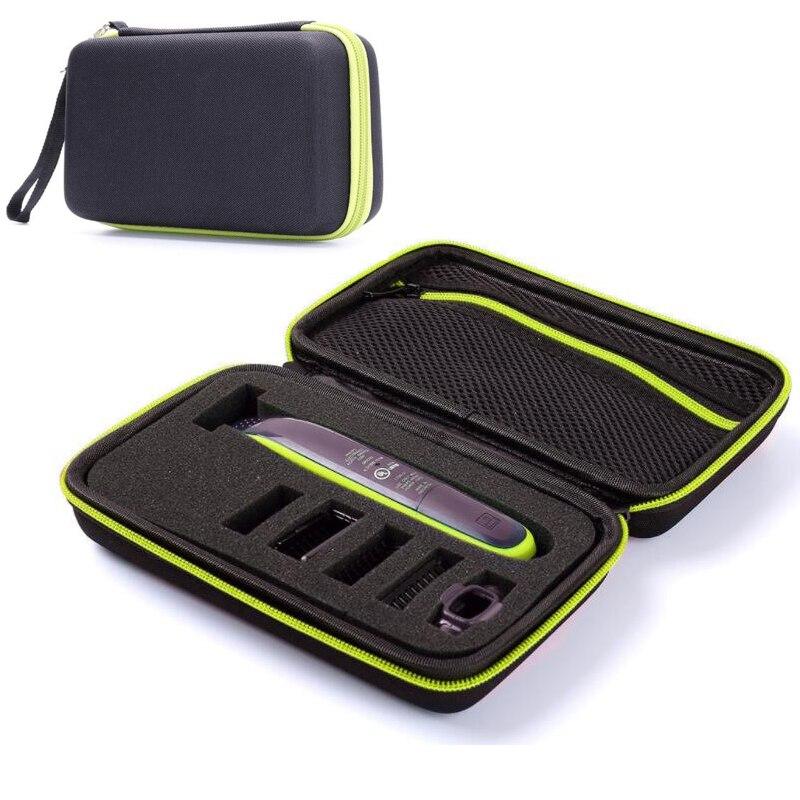 Tragbare Lagerung Fall Tasche Für Philips Oneblade Trimmer Rasierer Und Zubehör Sammlung Box Pack Shell Mäppchen Mit Linie Moderater Preis Unterhaltungselektronik