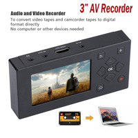 CVBS Audio Video Capture Box Converter AV Recorder VHS VCR DVD DVR Hi8 Game Player Cassette Tape Camcorder to MP3 MP4 HDMI HD TV
