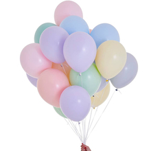 10pcs 5/10/12inch Macaron Pastel Latex Balloons For Wedding Party Backdrop Decor Baby 1st Birthday Balloon Garland Decoration
