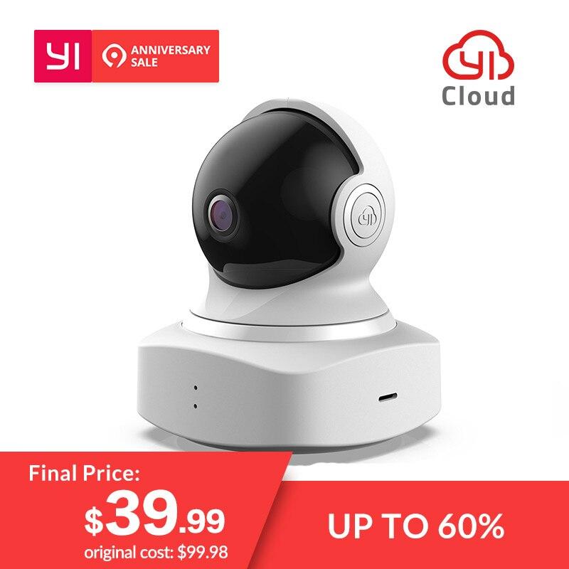 Nouveau YI Nuage caméra dôme 1080 P Sans Fil IP WIFI Accueil caméra de sécurité Bébé Pleurer Détection vision nocturne 360 Couverture Internationale
