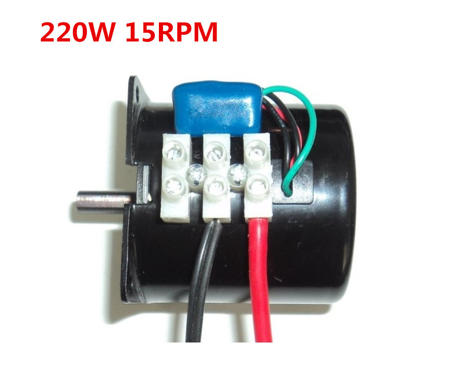 Ac Gear Motor With Gearbox 60ktyz Ac 220v 14w 15rpm