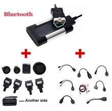 2017 Новые Bluetooth Для Autocom CDP Pro Диагностический 3 в 1 для Автомобилей и Грузовых Автомобилей, А Также Автомобилей и Грузовик 16 Кабели-DHL Бесплатно доставка