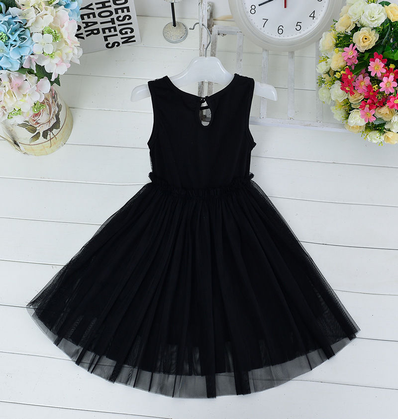 2018 Kids S Toddler Baby Princess Wedding Dress Bow Black Lace Tutu Cute Cat Outfits In Dresses From Mother On Aliexpress Alibaba