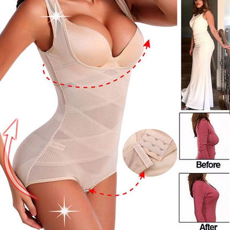 24d90849f759e Invisable Strapless Body Shaper High Waist Tummy Control Butt lifter Panty  Women Slimming Shapewear Slimmer Push UP Bodysuits-in Bodysuits from  Underwear ...