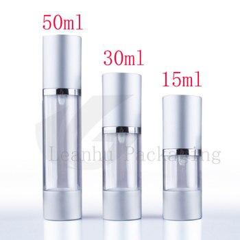 15ml  30ml 50g empty sample airless pump cosmetic aluminum container small lotion pump vacuum eye cream gel airless bottles pump
