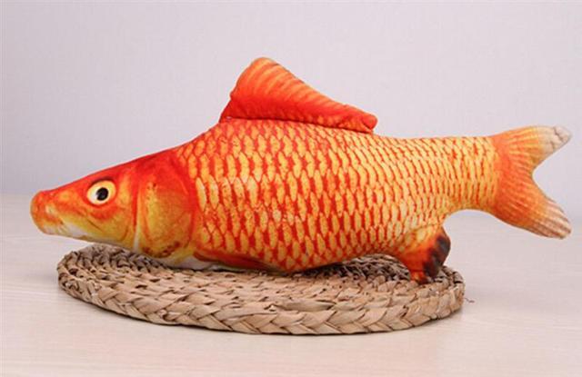Plyšová ryba - různé druhy -