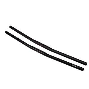 Image 3 - UD matte Full Carbon Small diameter  MTB Flat Rise 25.4*42/44/46/48/50/52/54/56/58/60/62/64/66/68/70cm  Mountain Bike  Handlebar