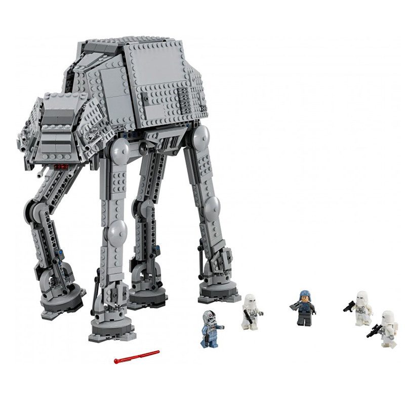 Oyuncaklar ve Hobi Ürünleri'ten Bloklar'de Yıldız Savaşları Serisi 05051 Kuvvet Ulaşmak AT AT Ulaşım Zırhlı Robot Yapı Taşları ile Uyumlu 75054 oyuncaklar'da  Grup 2