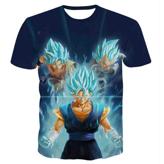 Dragon Ball Z Men 3D Print T Shirt