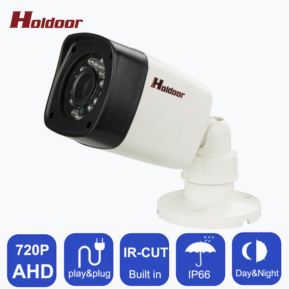 AHD 720P HD CCTV AHD Camera Indoor IP65 Waterproof Bullet 24pcs leds Night Vision IR Security Surveillance CCTV Camera AHD DVR wistino cctv camera metal housing outdoor use waterproof bullet casing for ip camera hot sale white color cover case