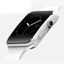 2016 neue Bluetooth Smart Uhr X6 Smartwatch X6 Smartwatch Für Apple iPhone Android-Handy Mit Kamera Unterstützung SIM Karte TF