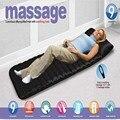 Household dobrável Massagem Colchão Sono de Beleza Spa Cabeça Vibrando Massager Do Pé No Pescoço Almofada Cama de Massagem Terapêutica Aquecimento Mat