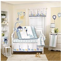 9 шт. кроватки детской комнаты для маленьких Спальня комплект детские постельные принадлежности elephantl кроватка постельных принадлежностей