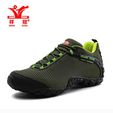 Original Brand Men Hiking Shoes Message Mesh Climbing Trainers Breathable Best Outdoor Sports Trekking Sneakers Free Shipping