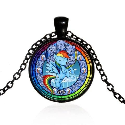 Kawaii Girls Children Pony Unicorn Horse Jewelry Necklace Charming Shan