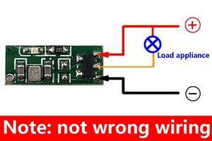 Image 2 - Interruptor de Controle Remoto sem fio 433 mhz rf Transmissor e Receptor kit 4 dc3.3v 3.7 v v 4.5 v Energia Da Bateria De Mini pequeno Controlador de Módulo