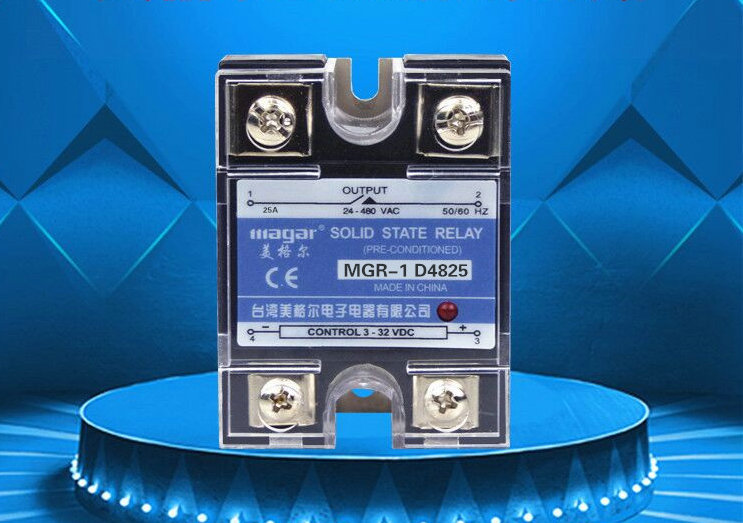 SSR-80A MGR-1 D4880 single-phase solid state relay DC control AC electrical / control box ./DIY control Accessories