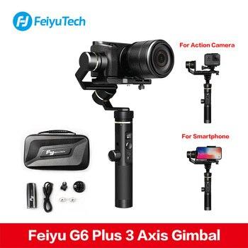 Feiyutech Feiyu G6 Plus SplashProof Handheld Gimbal Stabilizer for Smartphone Iphone Gopro hero Canon Sony camera PK Crane M