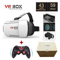"Original Google Cardboard VR BOX I 1.0 VR Virtual Reality 3D Glasses for 4"" - 6"" Smartphone + Game Bluetooth Gamepad"