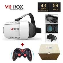 """เดิมG Oogleกระดาษแข็งVR BOXฉัน1.0 VRความจริงเสมือนแว่นตา3Dสำหรับ4 """"-6″มาร์ทโฟน+เกมบลูทูธGamepad"""