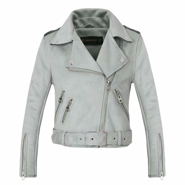 New Arrial Winter Suede Faux Leather Jackets 4