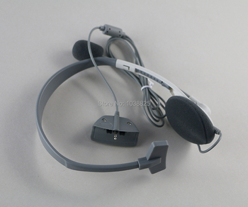 20pcs/lot high quality Headset Headphone Earphone with Microphone for Microsoft Xbox 360 Live Game