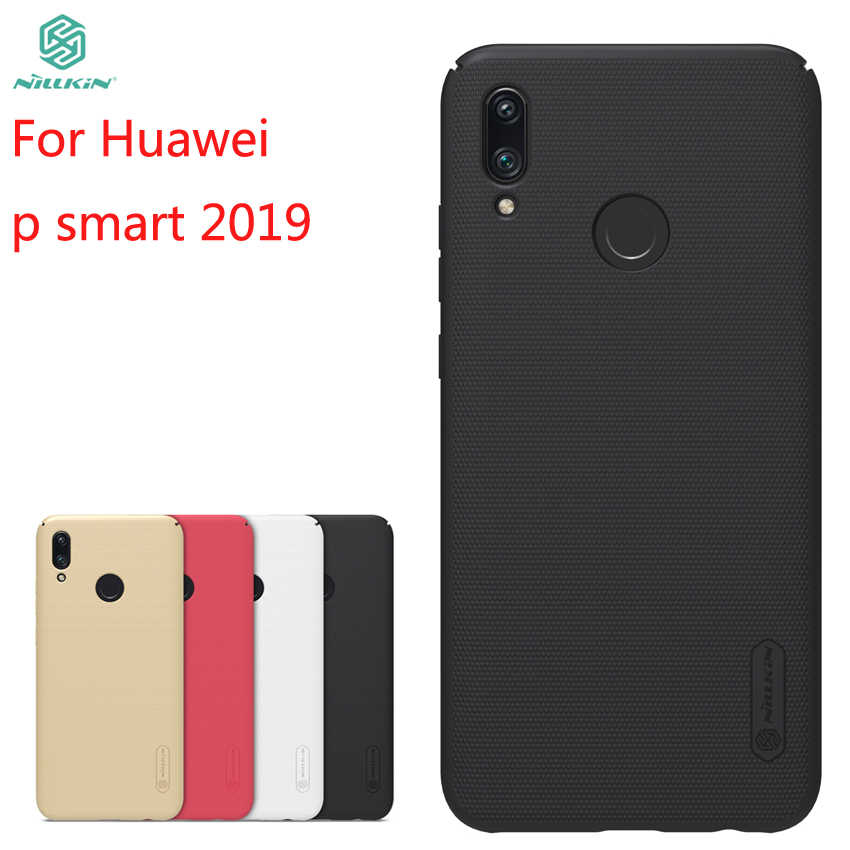 For Huawei P Smart 2019 Case Cover NILLKIN Fitted Cases For Huawei P Smart 2019 Super Frosted Shield For Huawei P Smart 2019