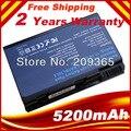 5200 mAh batería del ordenador portátil para Acer Aspire 3100 5100 9110 3690 5100 5610 5630 serie BATBL50L6 BATCL50L6 envío gratis