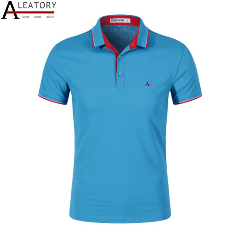2019 Reserva aramy Men's   Polo   shirt reserved camiseta masculina Short sleeved cotton slim fit men's clothing /CF551