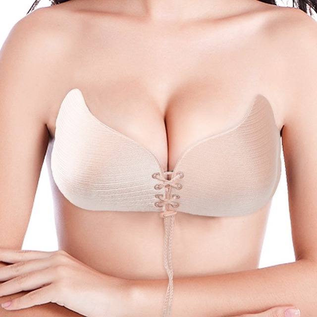 5baaded351 Women Bra Invisible bras Self Adhesive Backless bralette Strapless Push Up  Bra Breast Lift Silicone Bras