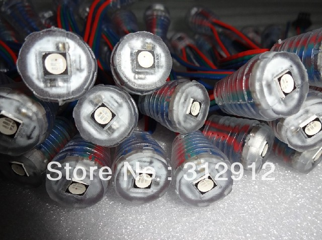 16mm DC5V  WS2811 led SMD pixel node,50pcs a string;with one piece high bright 5050 SMD RGB LED