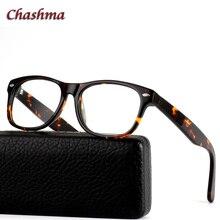 Chashma Brand Acetate Eyewear High Diopter Use Men Eye Glasses Frames Optical Tortoise Fashion Designer Frame Women