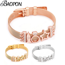 c7b6a7b18 Buy pandora mesh bracelet and get free shipping on AliExpress.com