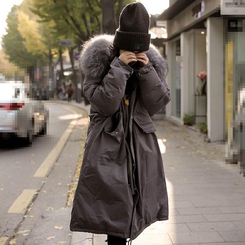 Vêtements Jacket Veste Jacket Unique Capuchon Manteau Manches Le Femme Vestes Bas Femmes À gray Mode Longues Dessin Chicever Zipper Black Poitrine De 2018 Vers D'hiver wn0n4RBq
