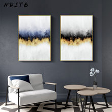 Abstract Sky Wall Art Canvas Posters Nordic Minimalist Prints Canvas Painting Decorative Picture Modern Living Room Decoration(China)