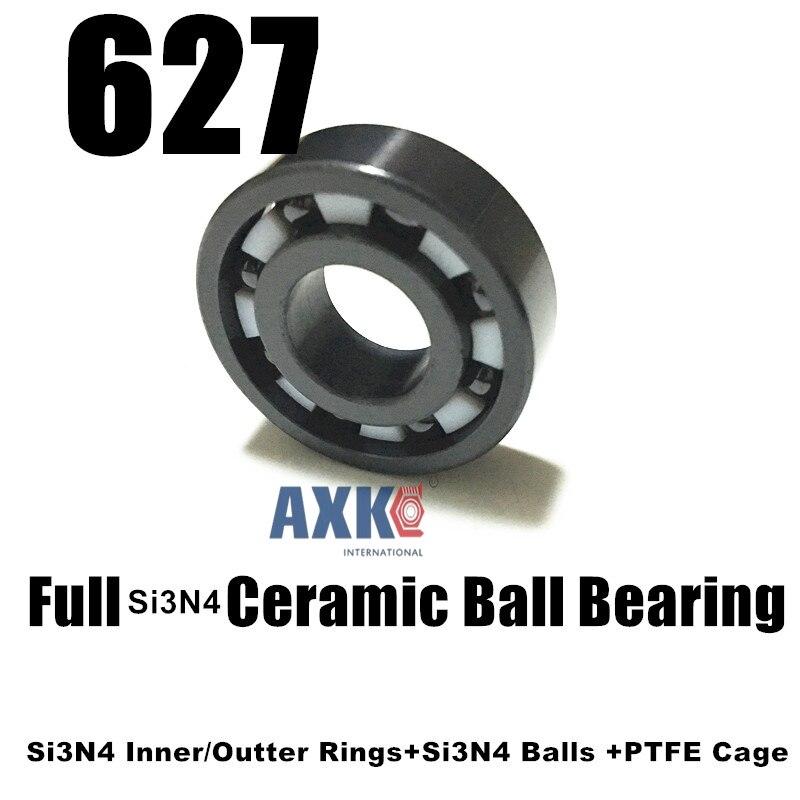 627 si3n4 full ceramic ball bearing 7*22*7mm si3n4