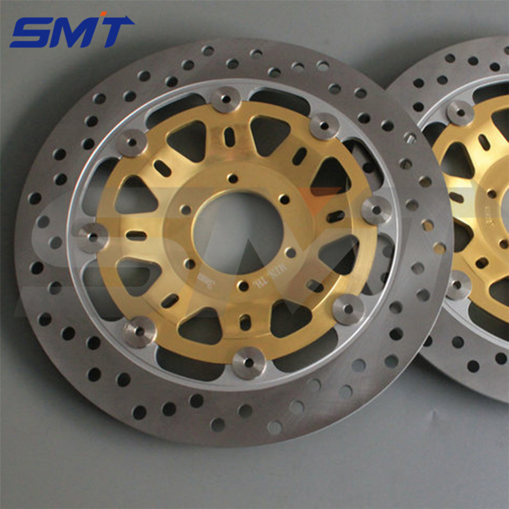 motorcycle Aluminum alloy inner ring & Stainless steel outer ring front brake disc rotor For Honda NSR 250RR MC18 MC21 1999 motorcycle aluminum alloy inner ring