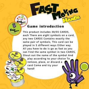 Image 5 - 논리 게임 swish 재미있는 투명 교육 카드 게임 어린이를위한 논리 게임 카드 놀이 명소 보드 게임 어린이를위한 장난감