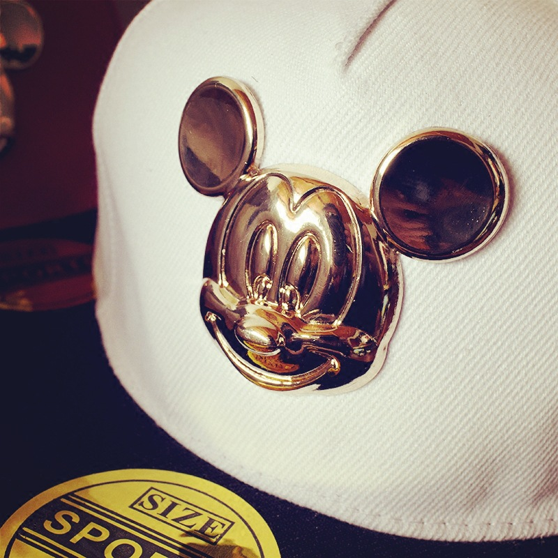 mickey ear hats children caps baseball cap ears funny spring summer minnie mouse big makes stick out