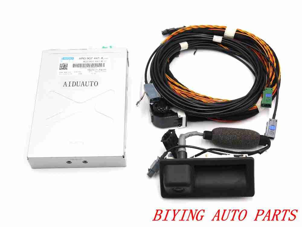 Для Audi Q5 камера заднего вида РВК камеры 8R0 907 441 + 5N0 827 566 AA + кабель жгут
