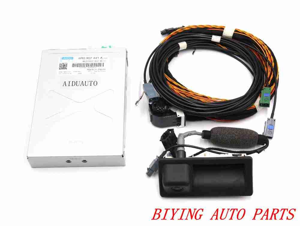 Pour Audi Q5 caméra de recul RVC caméra 8R0 907 441 UN + 5N0 827 566 AA + câble Harnais