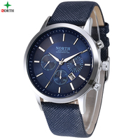 NORTH Men Sport Wristwatch 30M Waterproof Stainless Steel Casual Male Clock Gift Fashion Desgin Military Quartz