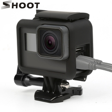 Go Pro Hero 5 Frame Mount Case Protective frame for GoPro HERO Black Camera Accessories