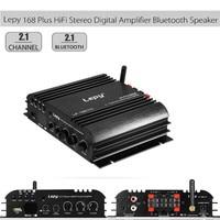 Lepy 168 Plus Super Bass HiFi Stereo Audio Amplifier Bluetooth Speaker 2.1CH Audio Digital Compact Amplifier 2.1+ EDR Speaker