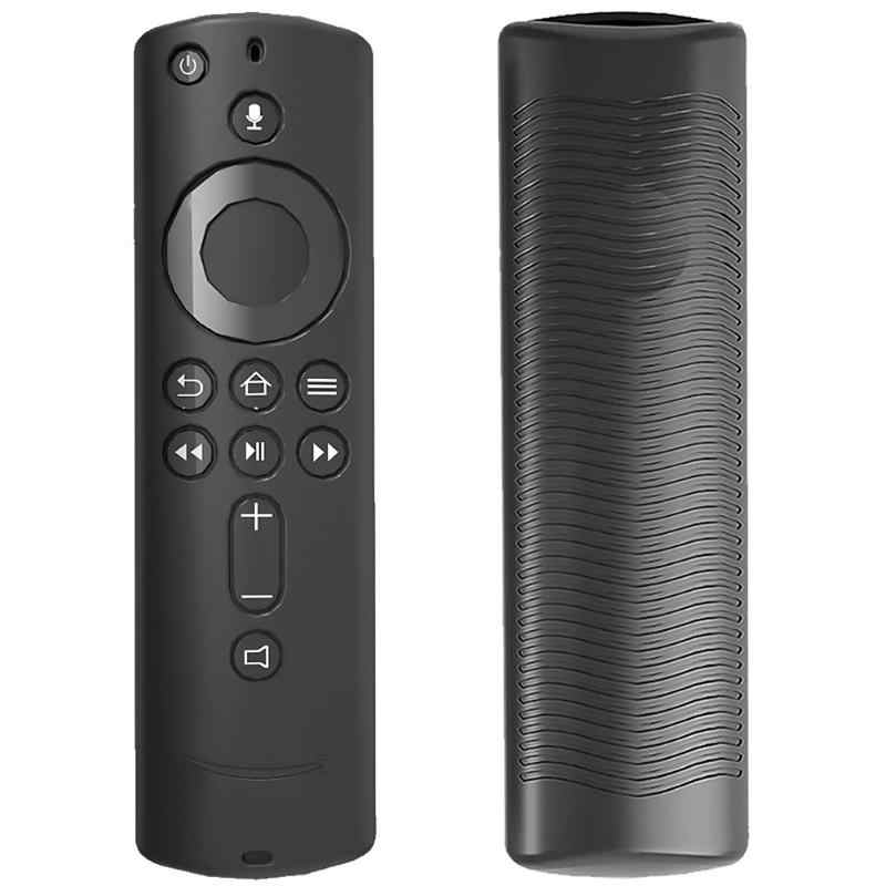 Siliconen Afstandsbediening Protector Case voor Amazon Fire TV Stick 4 K Mediaspeler Stofdicht En Zacht En Stretch Slip