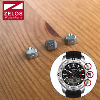 Titanium horloge pusher voor Tissot T-Touch II heren Analog-Digital Horloge knop