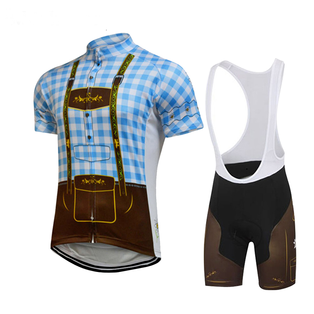 27497585a 2018 cycling jersey set ropa Ciclismo bike wear jersey set bib shorts gel  pad Summer Breathable cycling clothing MTB 12 style-in Cycling Sets from  Sports ...