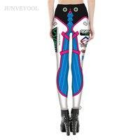 Gothic Design Leggings Women Steampunk Fitness Leggins Workout High Quanlity Mechanical Gear Robot 3D Printed Punk