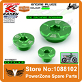 CNC Engine Timing Oil Filter Plug Set Fit KX250F 2011-16 KX450F 2009-16 KLX450R 2008-15 Dirt Bike Motocross Off Road Dirt Bike